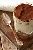 Coffee and cocoa tiramisu