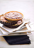 Banana,chocolate,coconut and Rum pies