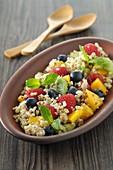Quinoa with fresh fruit