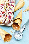 Fruity Ice Cream Cones