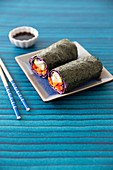 Rainbow Nori Roll