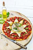 Cherry Tomato,Oregano,Thyme And Basil Tart