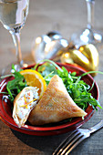 Cod And Orange Samossas
