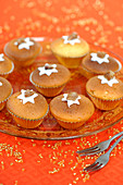 Candied Chestnut Cupcakes