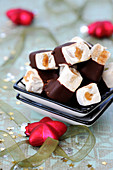 Chocolate And Almond Nougat
