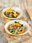 Wild Rice And Orange Salad