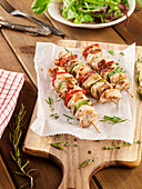 Turkey Brochettes