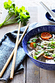 Beef And Coriander Phô Soup