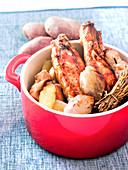 Schmortopf mit Pute und Kartoffeln