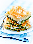Marathopita,Cretan fennel pies