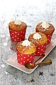 Coconut-passionfruit muffins