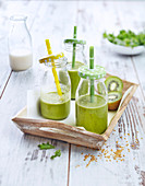 Grüner Milchshake