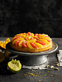 Citrus fruit cake