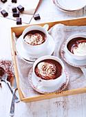 Heiße Schokolade Wiener Art, laktosefrei