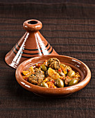 Meatball,olive and confit citrus Tajine