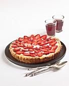 Strawberry tart from the Perigord