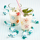 Mint sweet smoothie