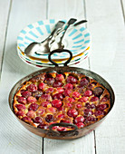 Cherry Clafoutis,cherry batter pudding
