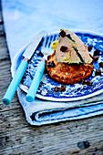 Truffled foie gras on toast