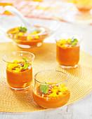 Saffron-Flavored Creamed Tomato