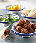 Falafel (Kichererbsenbällchen, Nordafrika)