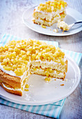 Apple And Fromage Blanc Layer Cake