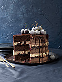 Layer cake black forest style