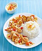 Turkey Curry with Basmati Rice