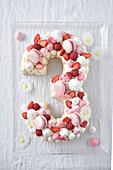 Number cake : 3
