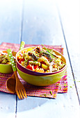 Fusilli and sardine salad