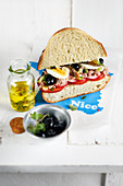 Pan Bagnat Sandwich (Frankreich)