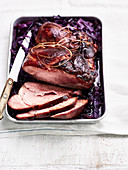 Smoked Shoulder with Red Cabbage