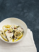 Roasted Turbot with Lemon, Rosemary and Capers