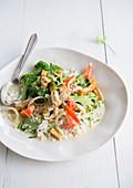 Green curry tofu