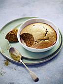 Matcha tea martian cake