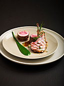 Spring Lamb with Herbs by Chef Rocha