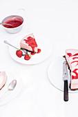 Erdbeer-Frischkäsetorte