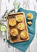Tuna and olive savoury muffins