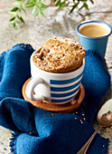 Sesam-Muffin in Tasse gebacken