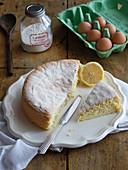 Biscuit de Savoie mit Zitrone (Frankreich)