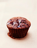 Small moist chocolate cake