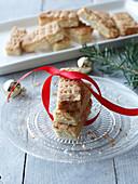Weihnachtliches Zitronen-Shortbread