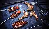 Meat a la plancha