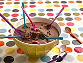 Mousse au Chocolate für die Party