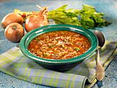 Millet soup