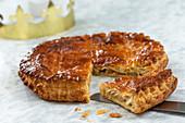 Galette des rois (King's cake)