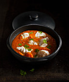 Armorican monkfish casserole dish