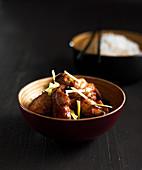 Chicken Wings auf japanische Art