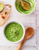 Avocado Spinach Soup