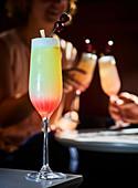 Cocktail pink floyd